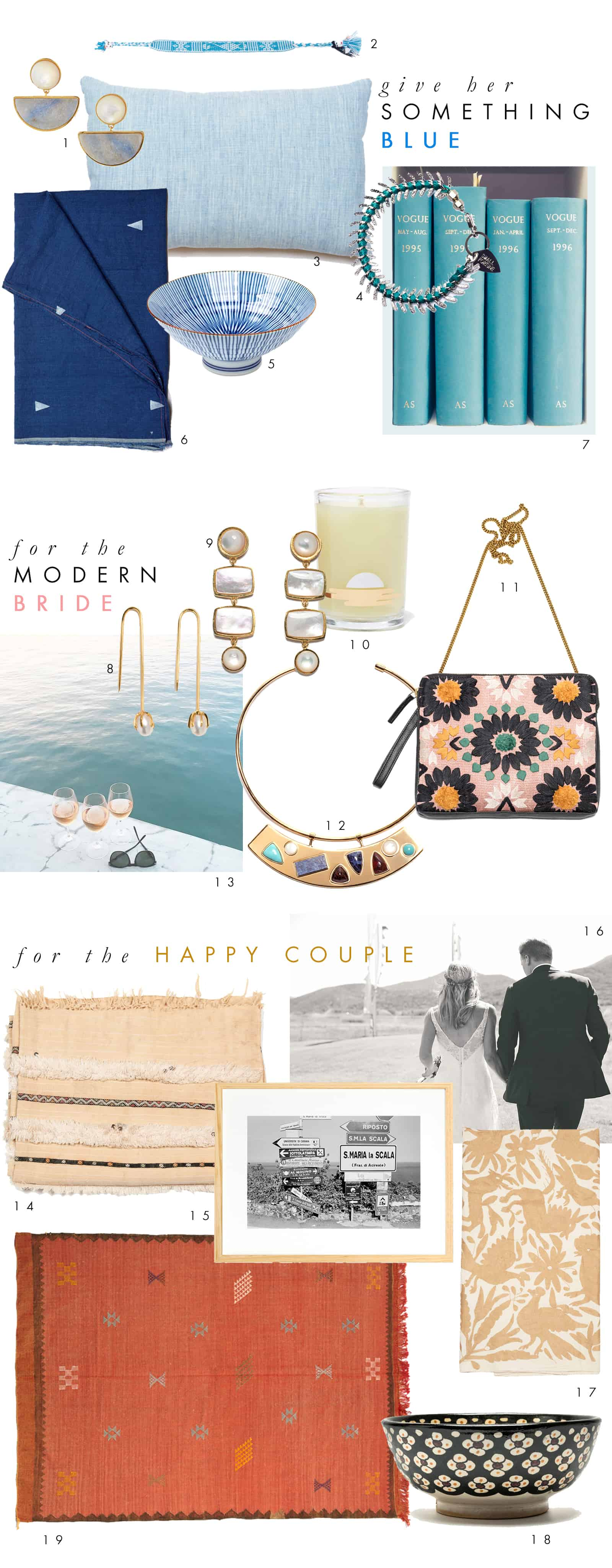 Wedding Gift Guide : Best Friends Wedding + Gift GuideLizzie Fortunato