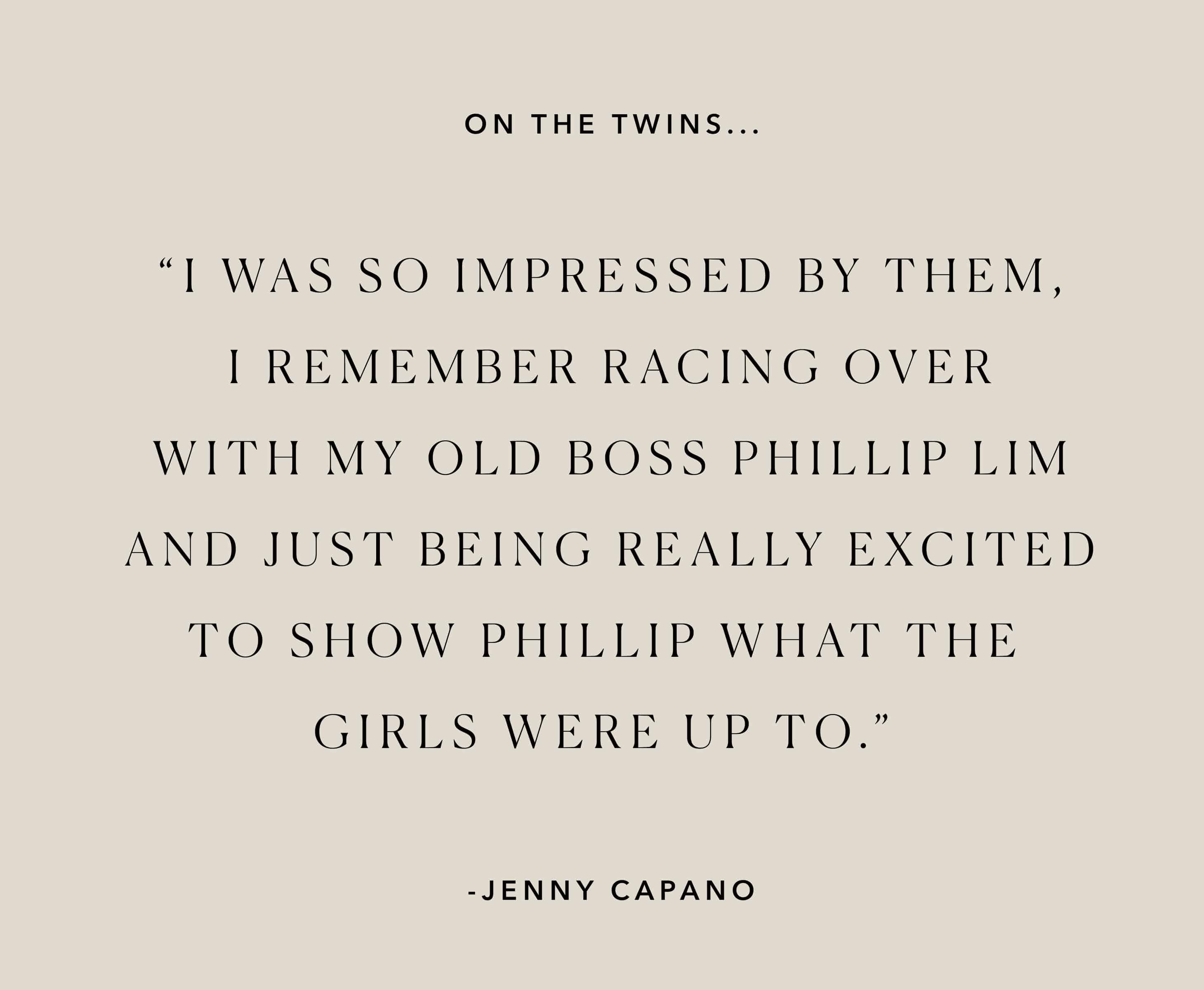 Friends For 10: Jenny Capano of Sacai 21